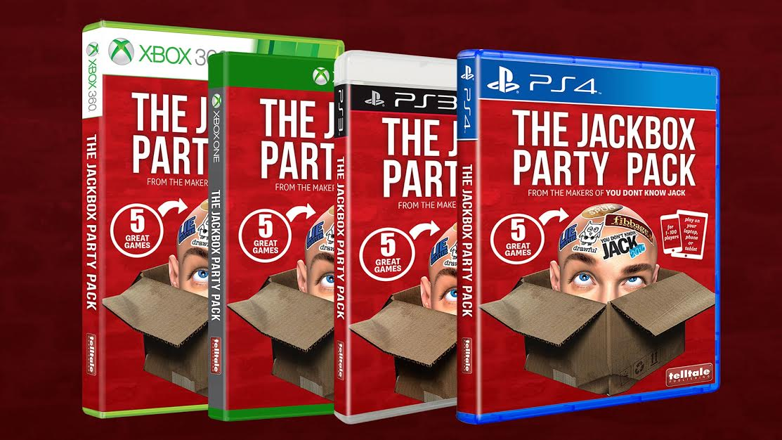 The Jackbox Party Pack In Stores Now