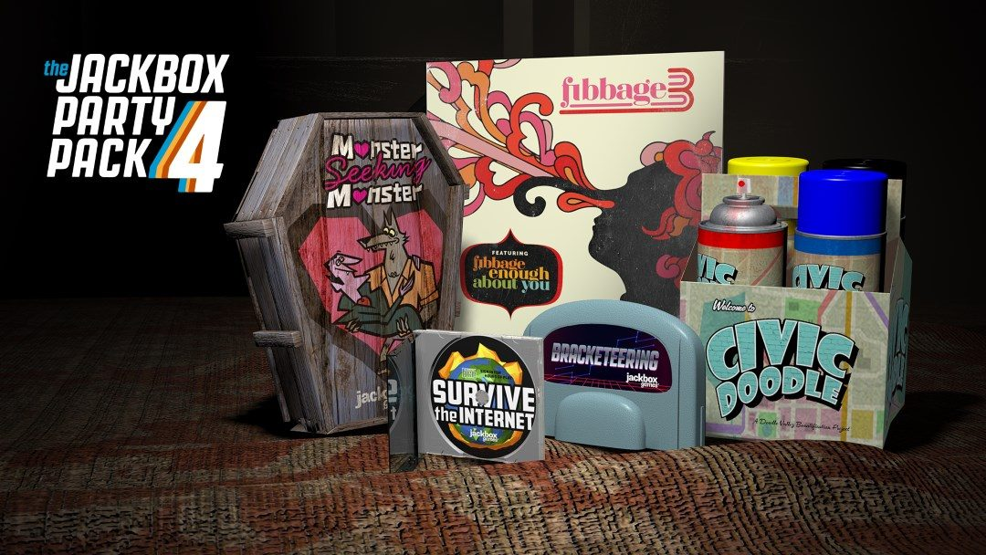 Here it is: The Jackbox Party Pack 4