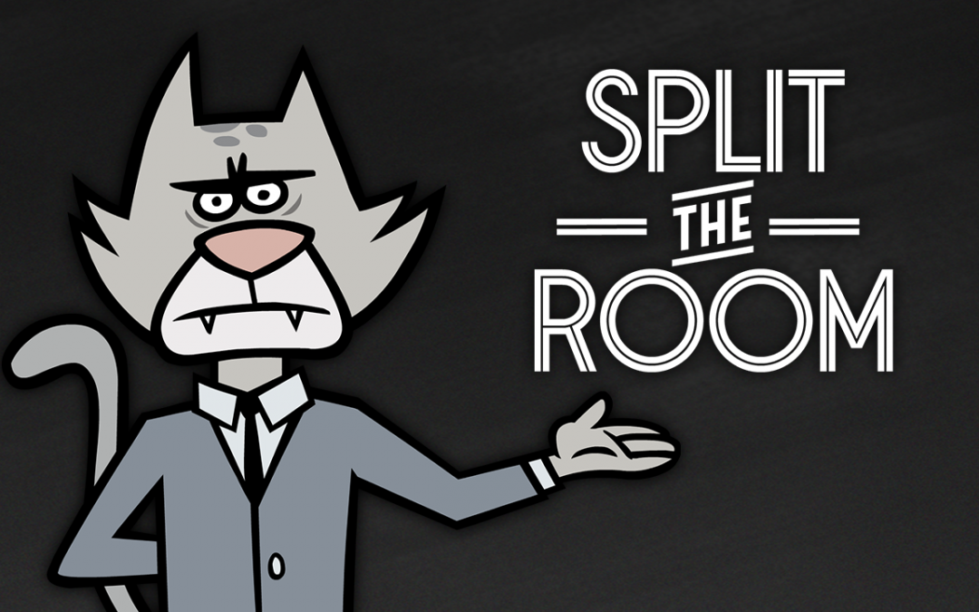 "Announcing Game Two of Party Pack 5: ""Split the Room"""