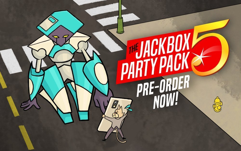 You Can Now Pre-Order The Jackbox Party Pack 5 for your PC/Mac!