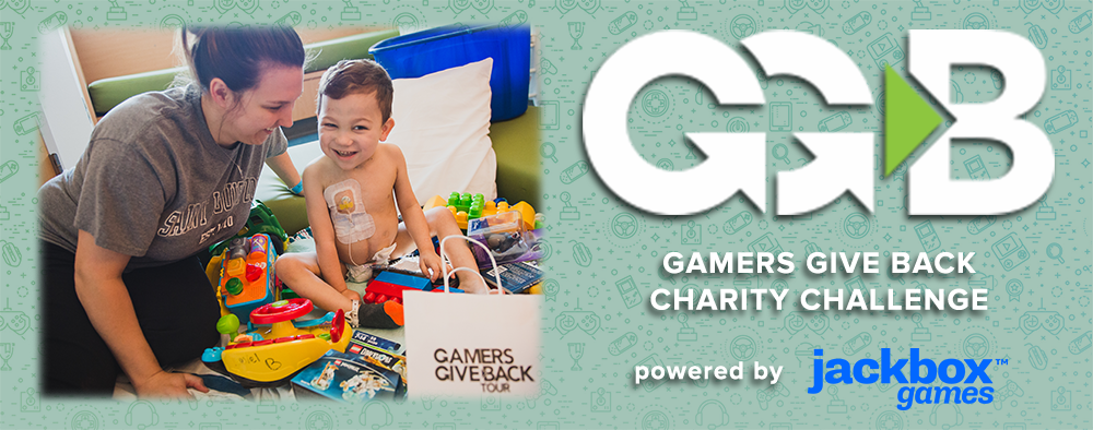 Jackbox Games is a Proud Sponsor of The Gamers Give Back Tour at PAX East