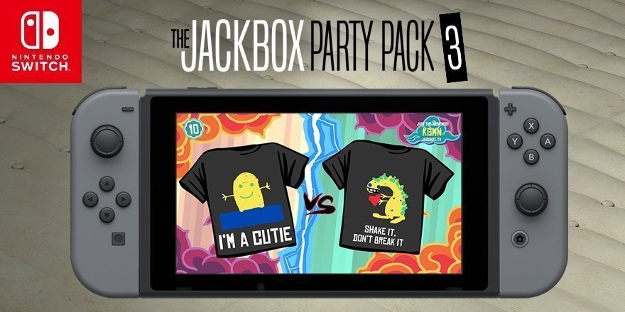 Pass Time Before Fireworks With Jackbox Games on your Nintendo Switch!