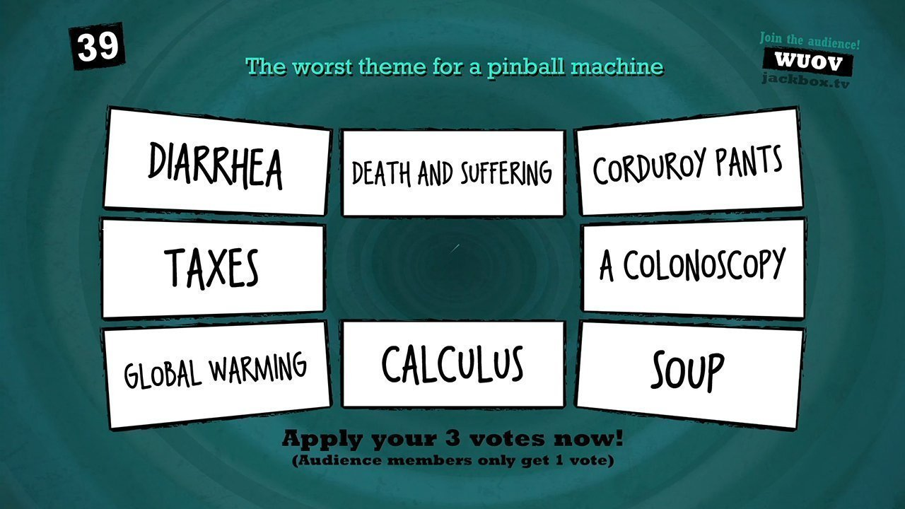 Quiplash can be used for fun corporate training